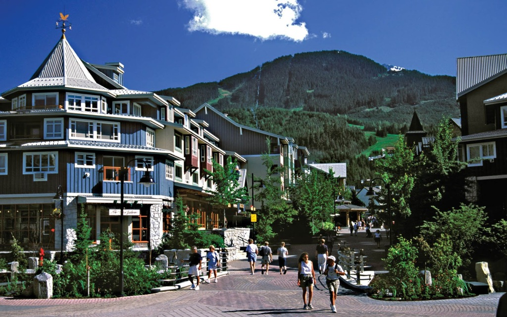 Village-Summer-Whistler-British-Columbia-Canada
